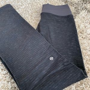 Lululemon Dark Grey Bootcut Yoga Pants